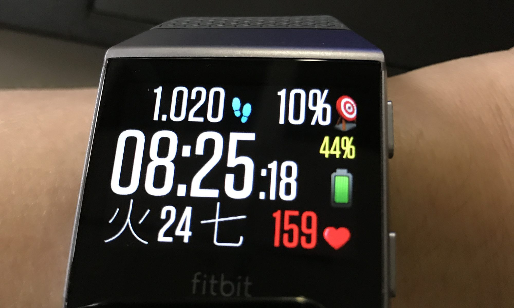 Fitbit Ionic、文字盤はClock-Fit
